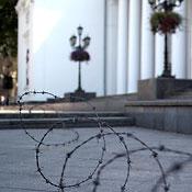 Колючая проволока в Одессе