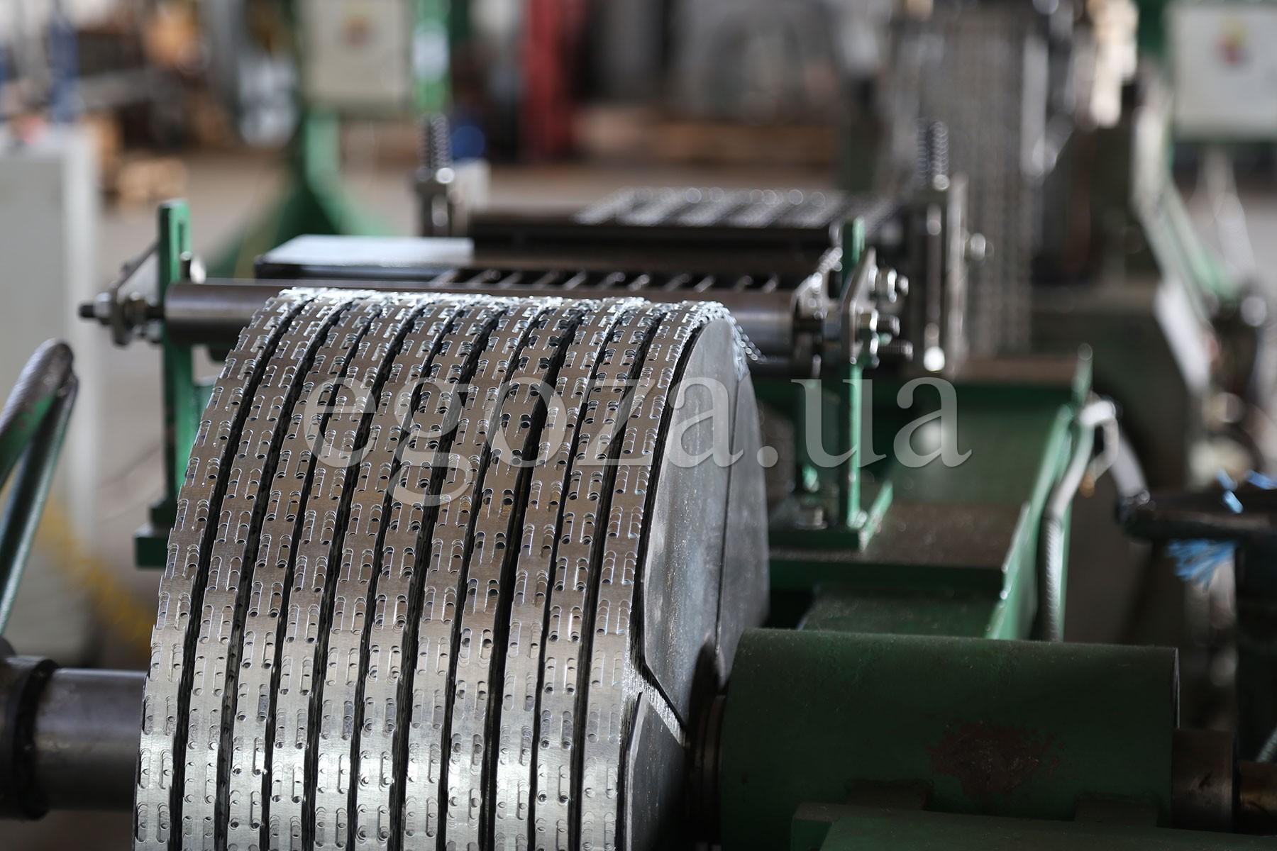 Изготовление колючей ленты