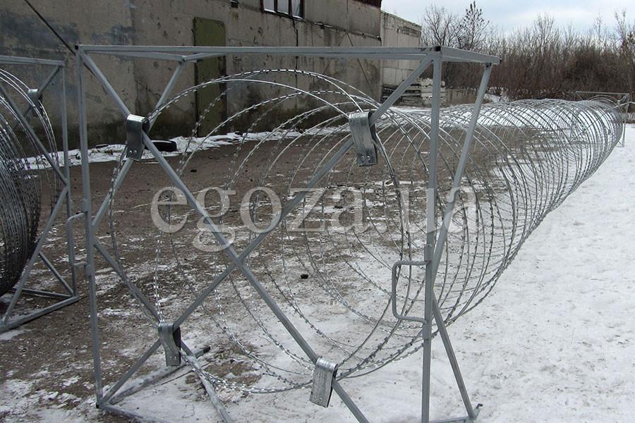 Egoza mobile barrier of safety