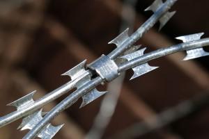 Super clip on Egoza barbed wire