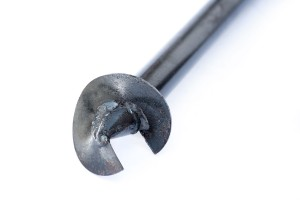 Screw pile blade