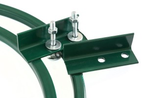 Fastening holder with bolts
