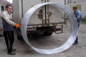 Бухта спирального барьера Егоза Супер
