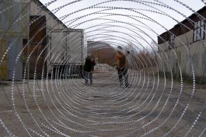 Spiral barrier Egoza Super inside view